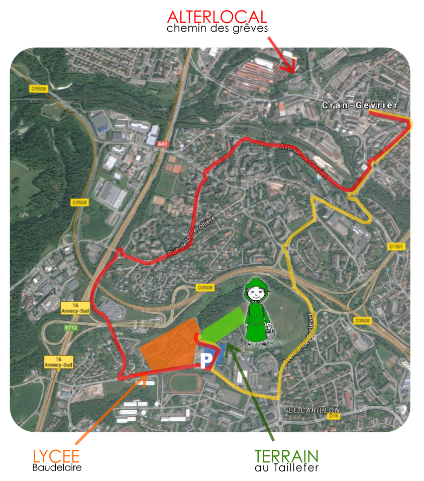 plan acces Taillefer